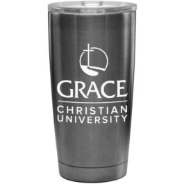 Stainless Tumbler – Stacked Logo